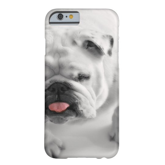 English Bulldog Puppy Barely There iPhone 6 Case