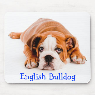 English Bulldog Puppy Mousepad