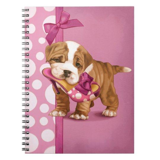 English Bulldog Puppy Notebooks