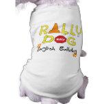 English Bulldog Rally Dog Doggie Tshirt