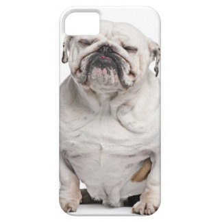 English Bulldog, sitting Barely There iPhone 5 Case