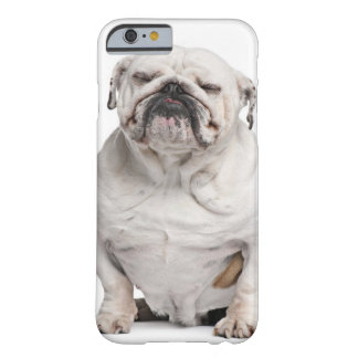 English Bulldog, sitting Barely There iPhone 6 Case