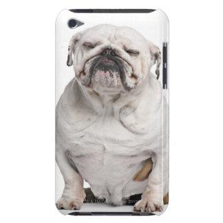 English Bulldog, sitting iPod Touch Case