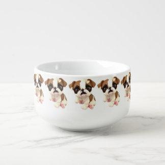 English Bulldog Soup Bowl