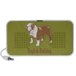 English Bulldog Notebook Speaker
