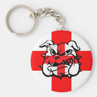 English Bulldog St George's Day English Keychain