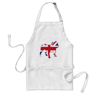 English Bulldog Standard Apron