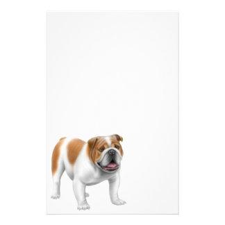 English Bulldog Stationery