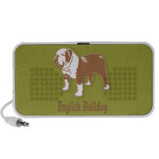 English Bulldog Travelling Speakers