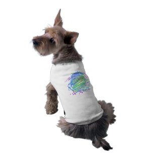 English Bulldog unique colorful pop dog art Shirt