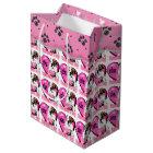 English Bulldog Valentine's Day Medium Gift Bag