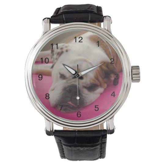 English Bulldog Watch