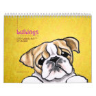 English Bulldogs Off-Leash Art™ Vol 1 Calendar
