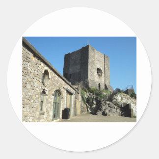 English Castle Sticker