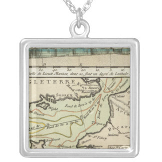 English Channel Silver Plated Necklace