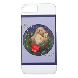 English Cocker Spaniel Christmas iPhone 7 Case
