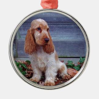 English Cocker Spaniel Christmas Ornament