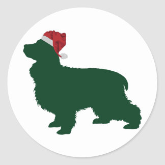 English Cocker Spaniel Classic Round Sticker