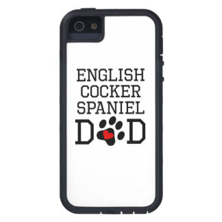 English Cocker Spaniel Dad Case For iPhone 5