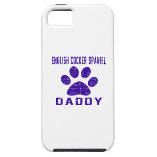 English Cocker Spaniel Daddy Gifts Designs iPhone 5/5S Cover