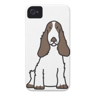 English Cocker Spaniel Dog Cartoon iPhone 4 Cover
