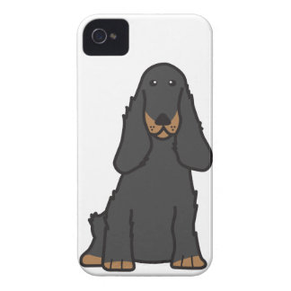 English Cocker Spaniel Dog Cartoon iPhone 4 Case-Mate Cases