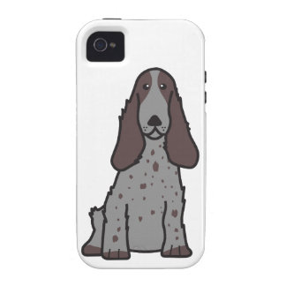 English Cocker Spaniel Dog Cartoon Case For The iPhone 4