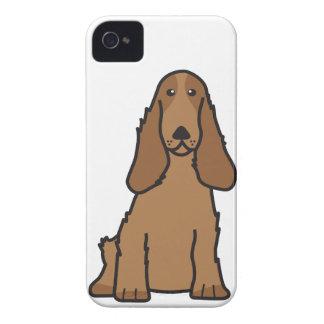 English Cocker Spaniel Dog Cartoon Case-Mate iPhone 4 Case