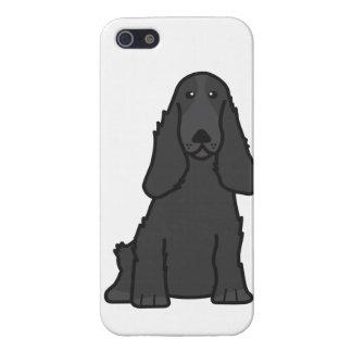 English Cocker Spaniel Dog Cartoon iPhone 5/5S Covers