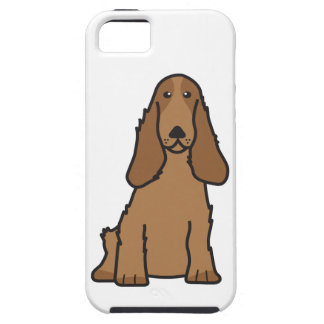 English Cocker Spaniel Dog Cartoon iPhone 5 Covers