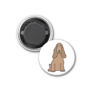 English Cocker Spaniel Dog Cartoon Magnet
