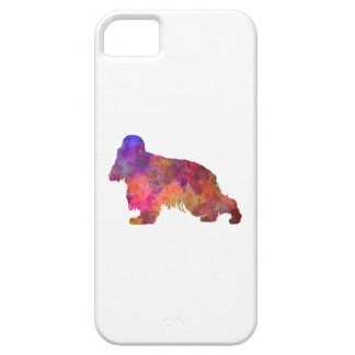English Cocker spaniel in watercolor Case For The iPhone 5