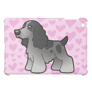 English Cocker Spaniel Love (add a pern) iPad Mini Cover