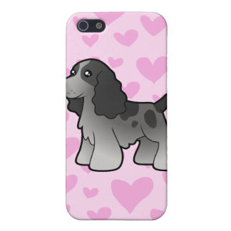 English Cocker Spaniel Love (add your own pattern) iPhone 5 Covers