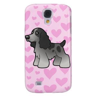 English Cocker Spaniel Love (add your own pern) Galaxy S4 Case