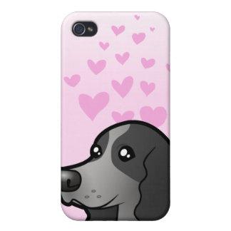 English Cocker Spaniel Love iPhone 4/4S Covers