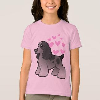 English Cocker Spaniel Love T-Shirt