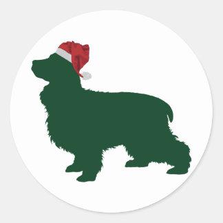 English Cocker Spaniel Round Sticker