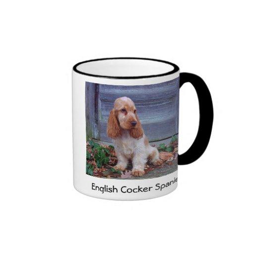 English Cocker Spaniels Mugs
