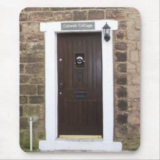 English Cottage door Mouse Pad