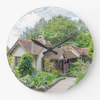 English cottage wall clock