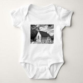 English Country church Baby Bodysuit