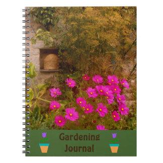 English Country Garden Gardeners Journal Note Books