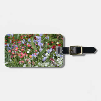 English Country Garden Luggage Tag