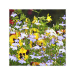 English Country Garden Stretched Canvas Prints