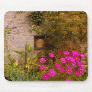 English Country House Garden in Summer Mouse Mat