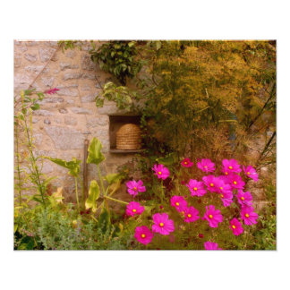 English Country House Garden in Summer Photo Print
