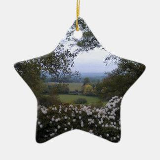 English Countryside Christmas Ornament