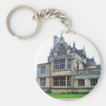 English countryside pictures Rushton Hall (3) Basic Round Button Key Ring
