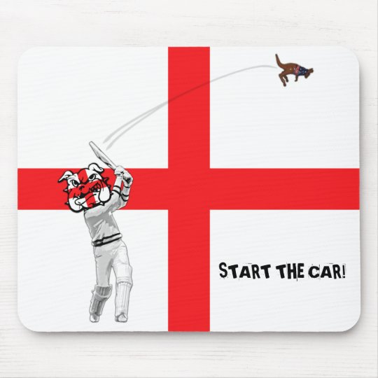 English cricket-Ashes 2009 Mouse Pad